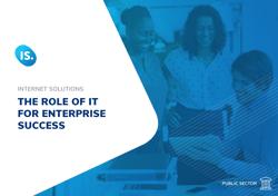 The role of IT for enterprise success
