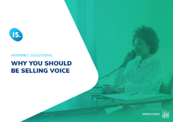 Why you should be selling voice